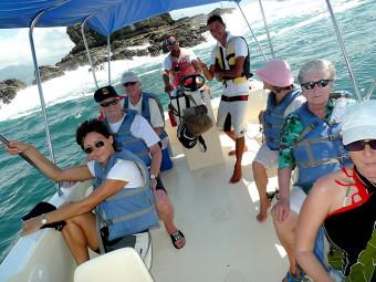 Am Ausflugsboot