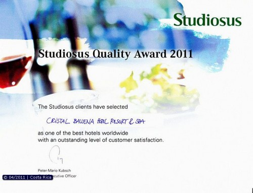 Studiosus Quality Award 2011