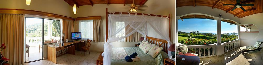 The Junior Suites At Hotel Cristal Ballena Feature Stunning Ocean Views