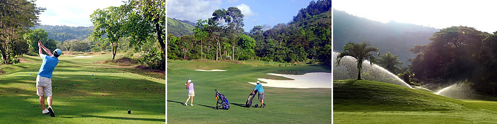 Enjoy a relaxing round of golf on Costa Rica's only southern region golf course