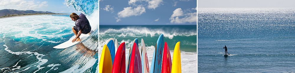 Enjoy a fun day surfing or stand-up paddle boarding on the south Pacific Coast of Costa Rica.
